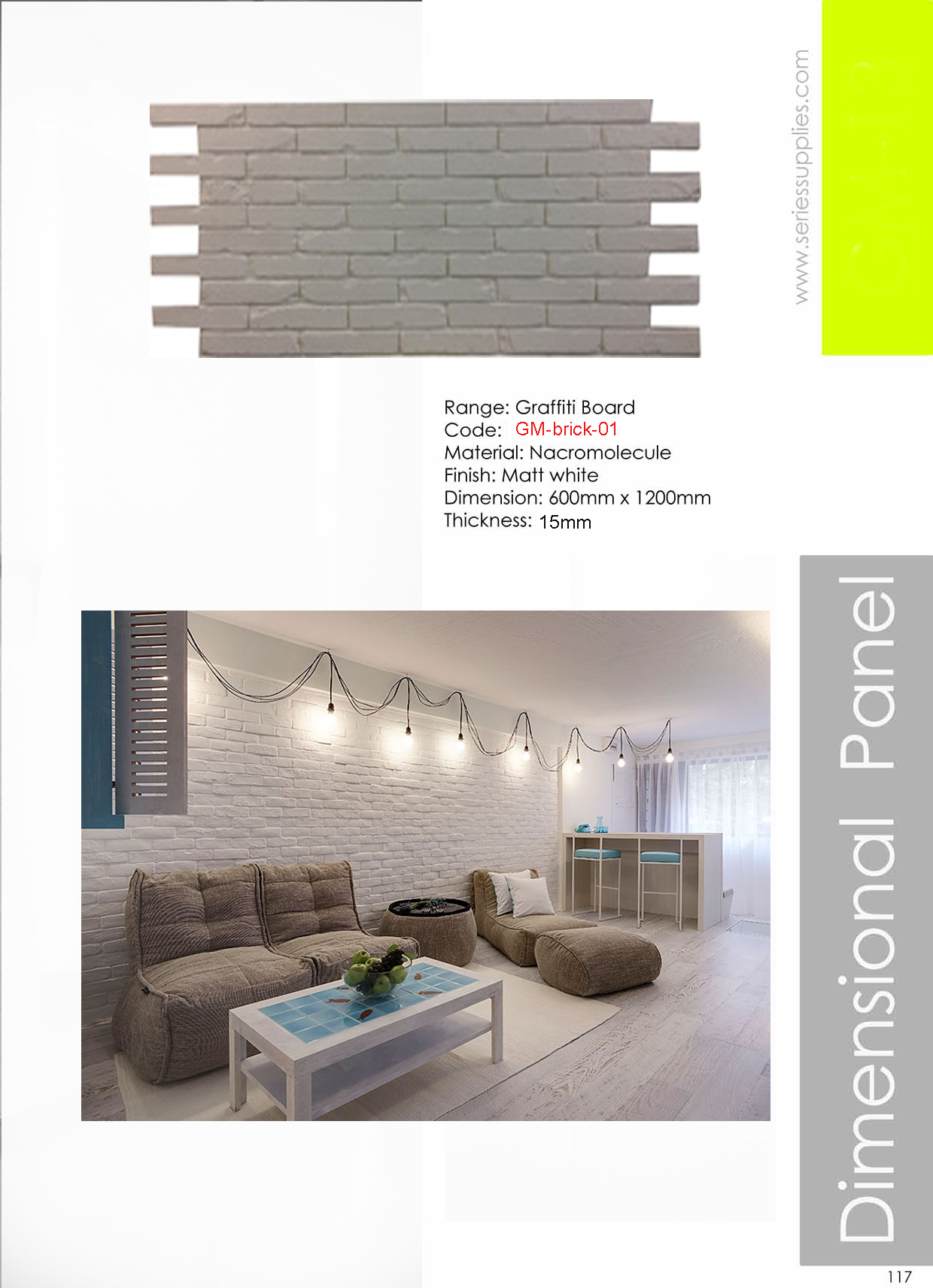 Faux Brick Wall For Interior Wall Wall Design Ideas