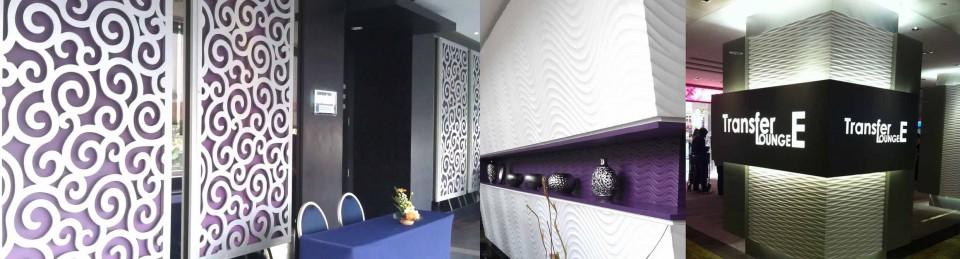 commercial interior design Wall Design Ideas